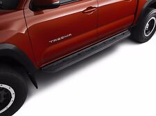 Genuine Toyota Cast Aluminum Running Boards for the 2005-2016 Tacoma-NEW, OEM