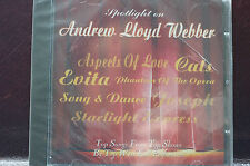Spotlight on Andrew Lloyd Webber Top Songs from Top Shows West End 12 Trcks MINT