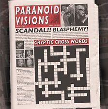 Paranoid Visions : Cryptic Cross Words CD (2015) ***NEW***