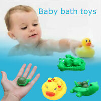 Bath Toy Floating Duck Crocodile Turtle Bathroom Water Shower Play Game Baby