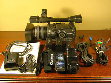 CANON XHA1 HDV 1080i MiniDV Video Camera NTSC Camcorder BUNDLE XH-A1 XH A1