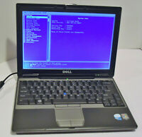Dell Latitude D430 12.1'' Notebook (Intel Core 2 Duo 1.33GHz 2GB NO HDD) Works!