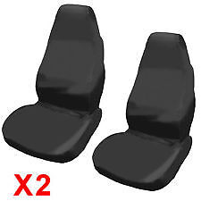 FORD FIESTA VAN (11+) WATERPROOF GREY VAN SEAT COVERS 2 SINGLE 1+1