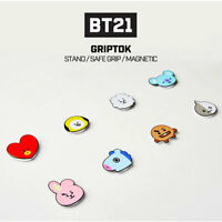 BT21 Official Authentic Goods Smart Grip Tok CHIMMY KOYA COOKY TATA RJ MANG Etc