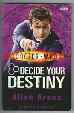Doctor Who Decide Your Destiny 2 Alien Arena BBC 2007 10th Doctor Paperback Good