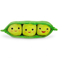 Soft Plush Toy 3 Peas in a Pod Beans Cuddle Pillow Lovely Kids Toy Story Gift