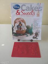 Eaglemoss disney cakes & sweets pinocchio & jimmy cricket moule nº 56 nouveau