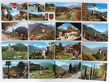 SÜDTIROL & Dolomiten Italien Sammlung 26x MERAN MERANO Cartolina Italiana ~1970