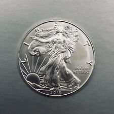 1 oz US American silver Silber EAGLE 2018 USA Feinsilbermünze One Dollar Liberty