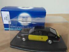 Antigua miniatura 1:43 Scale Carr 34152 Chrysler 150 GTS Taxi de Barcelona.