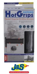 Oxford Products HotGrips Essentials Scooter Heated Grips Winter Warming Commuter