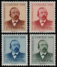 ✔️ LUXEMBOURG 1948 - CARITAS FONTAINE - SC. B147/B150 ** MNH CV19$ [LX435]