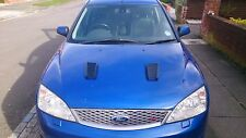 FOCUS RS MK2 STYLE ABS PLASTIC BONNET VENTS *FORD PROFILE* FIESTA MK9/ST180