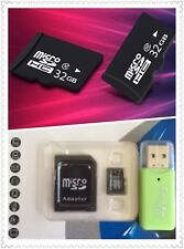 Micro SD SDHC Flash Memory Card + Adaptor +USB Card Reader Class 10 New 32G