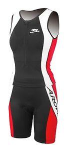 Aropec Ladies Agile Triathlon Top / Shorts Lycra Suit. Swimming, Running,Cycling