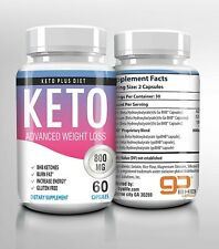 KETO PLUS DIET BURN DIET PILLS PURE KETO  WEIGHT LOSS SUPPLEMENT 60 CAPS USA