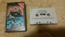 The Election Game Video Game Cassette Commodore 64 C64/C128 💜💜💜 FREE POST