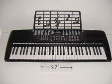 61 Key Electronic Digital Keyboard Piano Organ Black