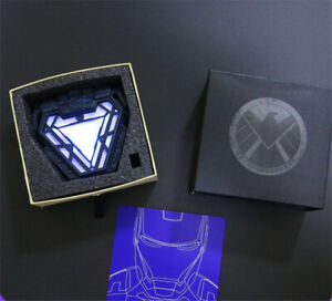 Iron Man Arc Reactor LED Light MK50 Wearable Cosplay Prop Resin Collection Gift