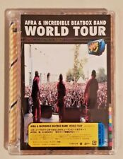 WORLD TOUR -BEATBOX TV / AFRA & INCREDIBLE BEATBOX BAND DVD NEW & SEALED