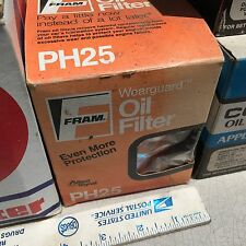 General Motors, AMC, IHC;  Studebaker, oil filter,  Fram  PH-25.   Item:  4210