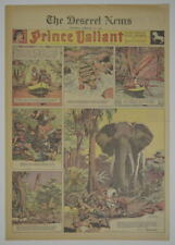 PRINCE VALIANT Full Color SATURDAY PAGE King Features Hal Foster 2/15/1942, #262