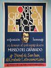 """Obra Grafica de Jose Alicea"" ICP Puerto Rico Vintage Silkscreen Poster San Juan"