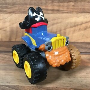 Rare Blaze and the Monster Machines Pegwheel Pete Pirate Die-Cast Vehicle