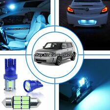12x Aqua Ice Blue LED Interior Dome Map Light Package Kit For Scion xB xD 08-15