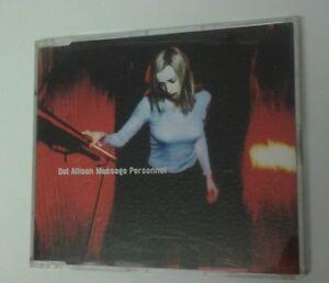Dot Allison Message Personnel CD Single incls Arab Strap & Death In Vegas mixes