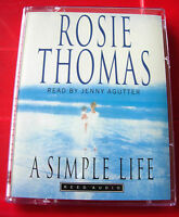 Rosie Thomas A Simple Life 2-Tape Audio Book Jenny Agutter