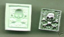 Skull w/bones Polymer Clay Mold 0 S/H AFTER FIRST ITEM!