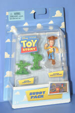 DISNEY TOY STORY ACTION SHERIFF WOODY & GREEN ARMY MEN Figure BUDDY PACK MATTEL