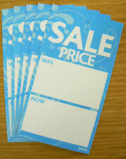 Boutique SALE PRICE TAGS SWING TICKETS LABELS BLUE x 500