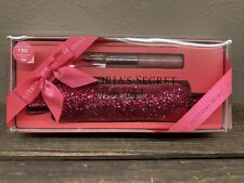 Victoria's Secret Party Perfect Set Bombshell Rollerball Lipgloss & Glitter Bag