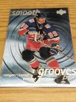 WAYNE GRETZKY New York Rangers HOF 1998-99 Upper Deck SMOOTH GROOVES SHORT PRINT