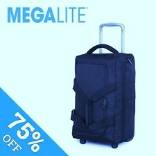 """IT Luggage Cabin Size Trolley Bag All Airlines 19.5"""" Megalite Blue"""