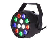 PROJECTEUR PROJO DMX 8 CANAUX PAR A LED - 9x1W RGB + 3x1W BLANC ECLAIRAGE