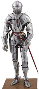 LARP Medieval Knight Suit Of Armour Steel Wearable Armour Reenactment Costume