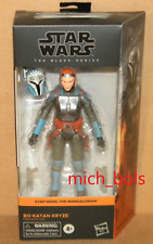 "BO-KATAN KRYZE #10 Black Series Star Wars 6"" Action Figure 2021 Mandalorian"