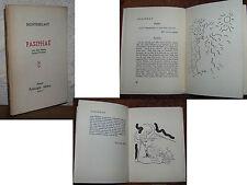 Montherlant Pasiphaé Jean Cocteau