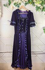Victorian Choice purple velvet Ball Gown Dress Steampunk Reenactment Xxl