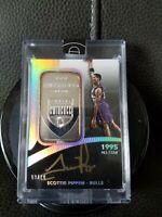 2015 Eminence Scottie Pippen(1oz).999 Silver BarAUTO 10/10 Bulls ONLY(1) Ebay!!!