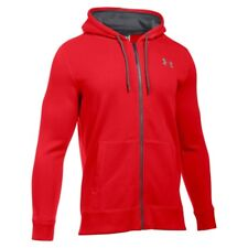 UNDER ARMOUR MENS STORM RIVAL ZIP THRU HOODIE HOODY SIZE L 42-44 INCH CHEST £50