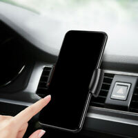 Universal Gravity Clip Car Phone Holder Air Vent Mount Stand for Mobile Phone