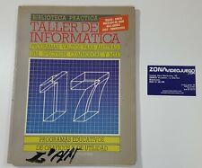 Biblioteca Practica Taller de Informatica 17, Programas, msx, amstrad, spectrum.
