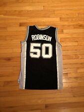 David Robinson San Antonio Spurs Champion Jersey Mens Size L +2 Length ff2b799f8