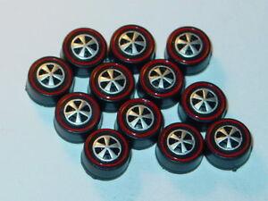 Hot Wheels Redline Red Line US WHEEL TIRE Lot of 12 MEDIUM Bearing Style -NEW!
