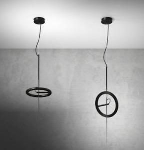 Ingo Maurer / Ringelpiez WHITE Suspension Lamp..