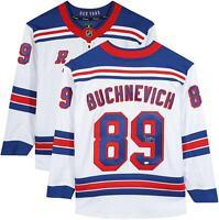 Pavel Buchnevich New York Rangers Autographed White Fanatics Breakaway Jersey